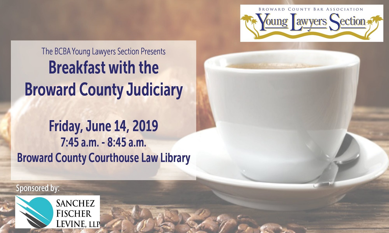 BCBA's Young Lawyers Section Hosts Breakfast with the Judiciary – June 14