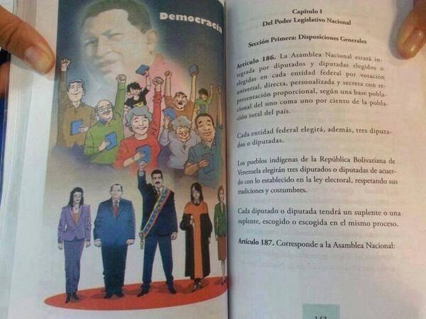 Libros nuevos de educacion en venezuela sale hasta Maduro | iJustSaidIt