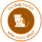 the dog market logo