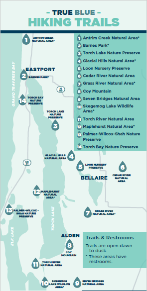 TB Hiking map