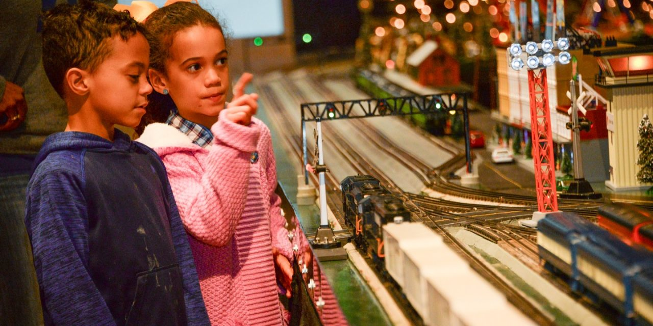Jump on the Trivette train: 625-foot train on display at Kentucky Historical Society