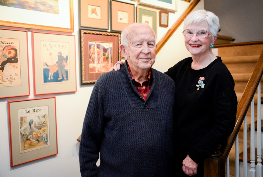 Hoover home reflects love of downtown, art