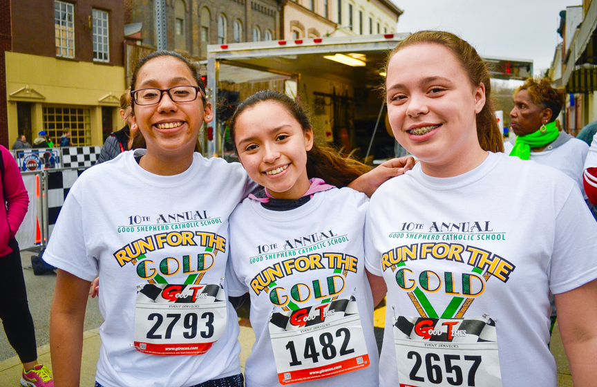 SNAPPED: Hundreds 'Run for the Gold' March 17, 2018