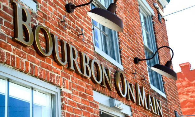 Bourbon on Main serving craft beers, bourbon and food