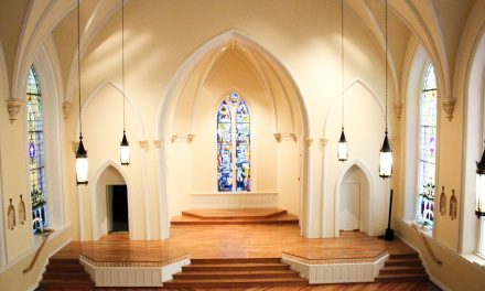 Restoring faith: Dunns preserve historic Good Shepherd Catholic Church