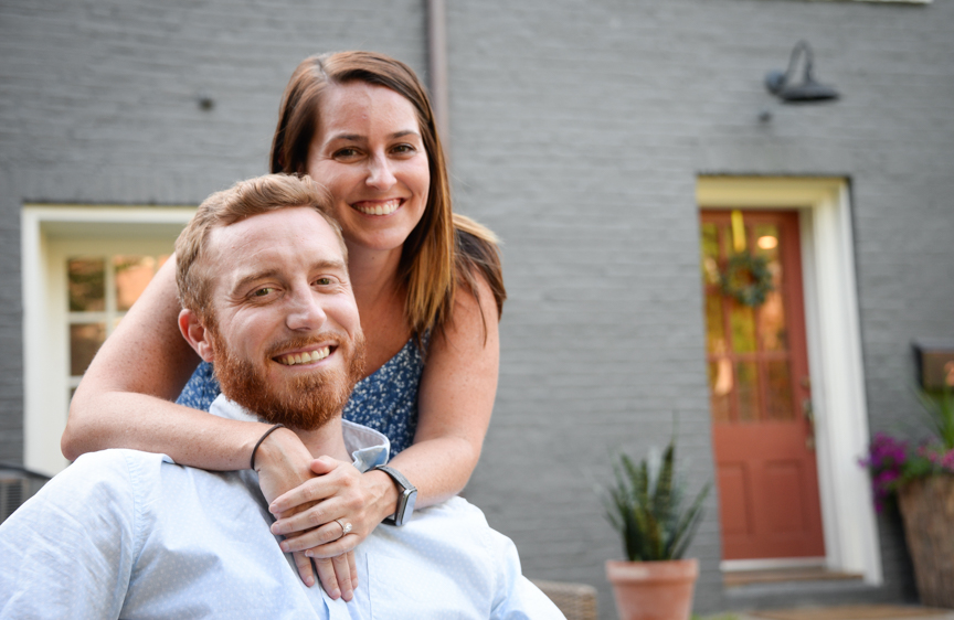 Couple finds forever home in 19th century carriage house