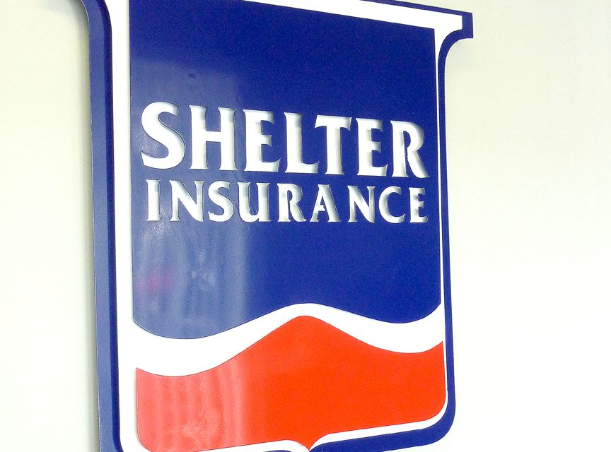 At your service: Shelter Insurance agent Audrey Marshall serving customers 24 hours a day, seven days a week, 365 days a year