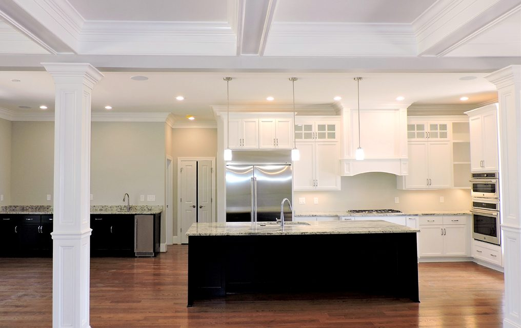 New build advantages: A beautiful kitchen with style and function