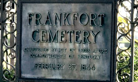Frankfort: Kentucky Distilled — Fine patina or lost luster?