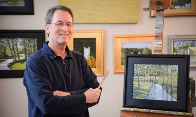 Bob McWilliams always finds time to fulfill passion for painting