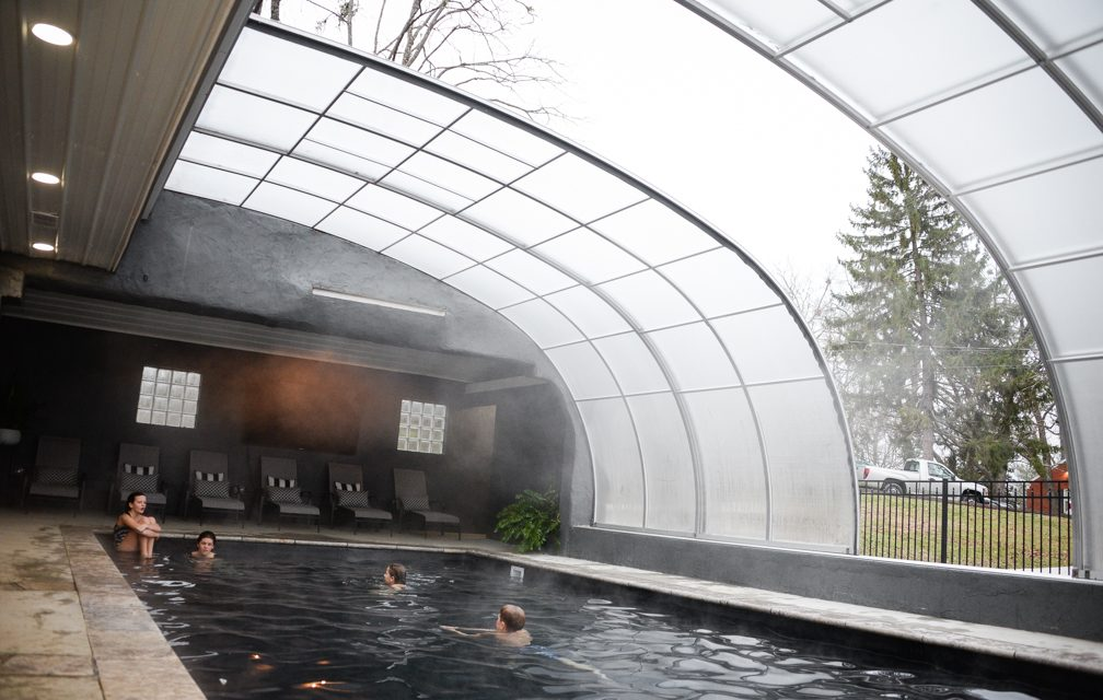 Backyard resort: Abney's build year-round indoor pool
