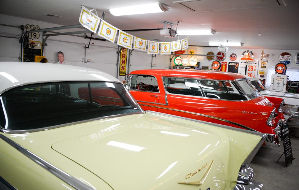 Live to cruise: Charlie Cheatham collecting Chevy cars from the 50s and 60s