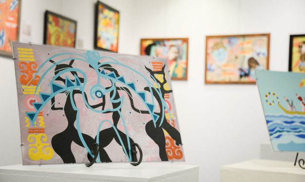 See the future through an African-American lens: The art of Aton on display at Grand Gallery