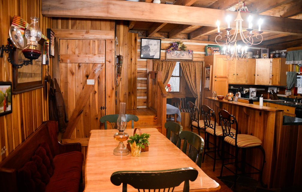 Quiet, country living: Deatons build log cabin home on Pea Ridge Road