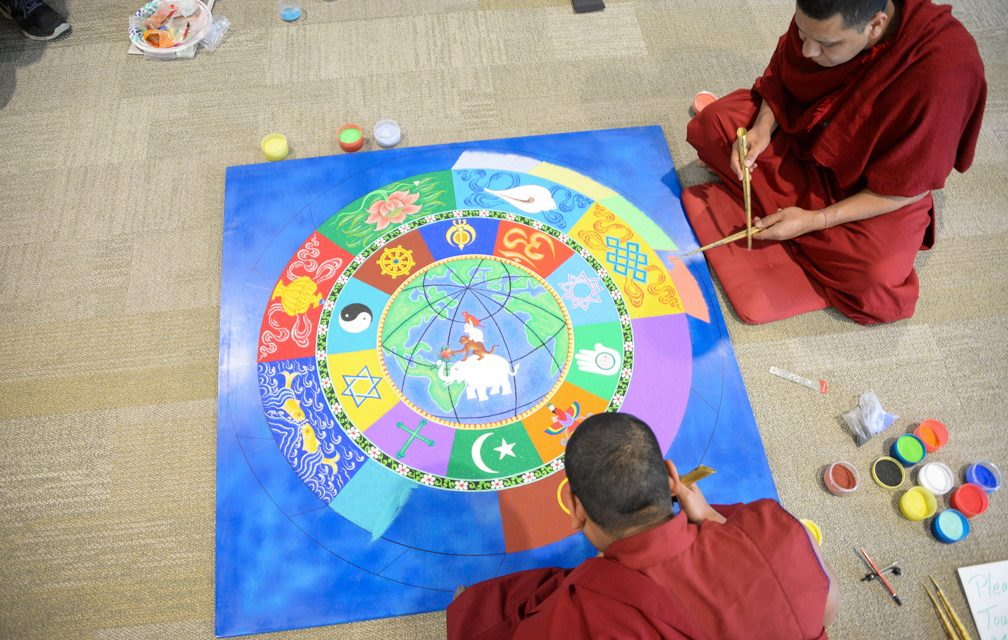 Embracing impermanence: Tibetan monks teach loving kindness, compassion, generosity