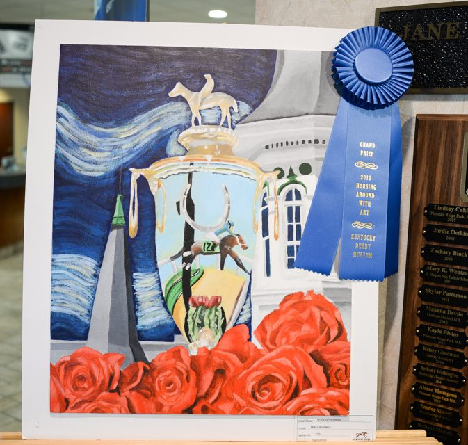 'Art in the Winner's Circle': A Derby tradition