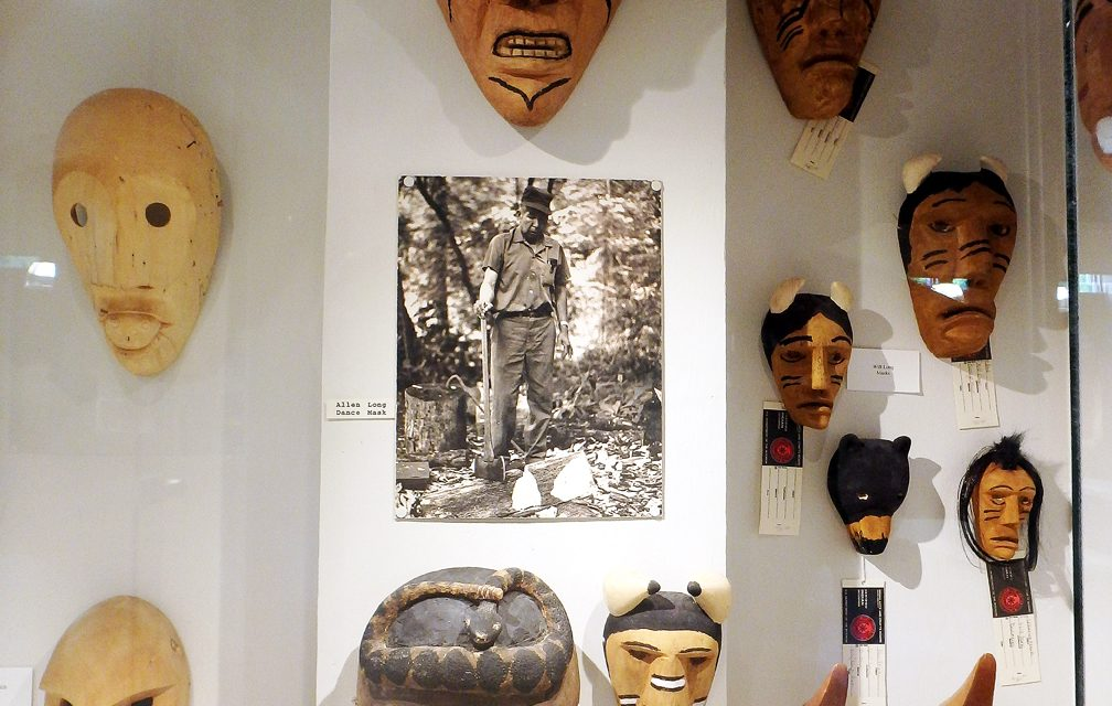 The journey of two Cherokee ceremonial masks
