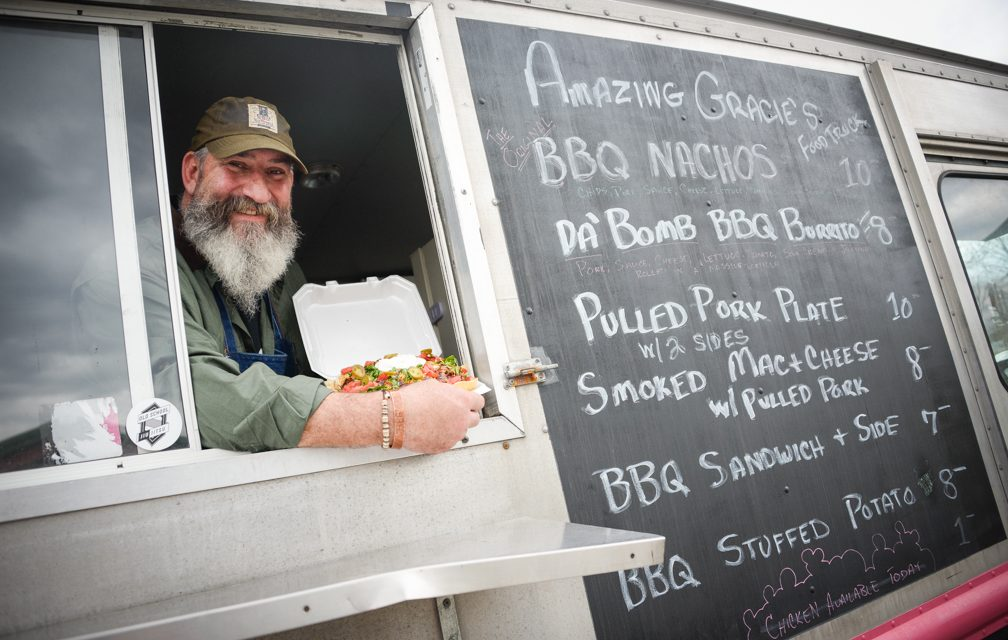 Bradley takes passion for BBQ on the road