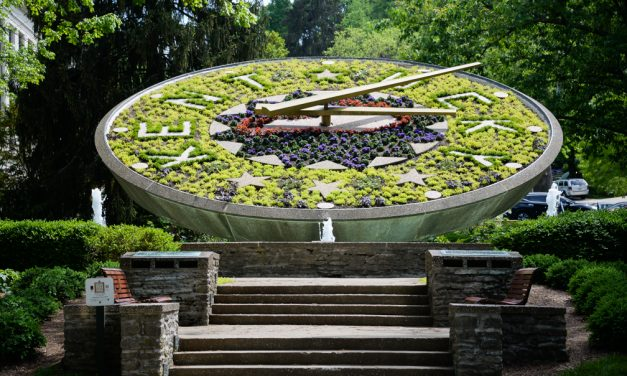 Ticking through time: Capitol floral clock one of few in the world