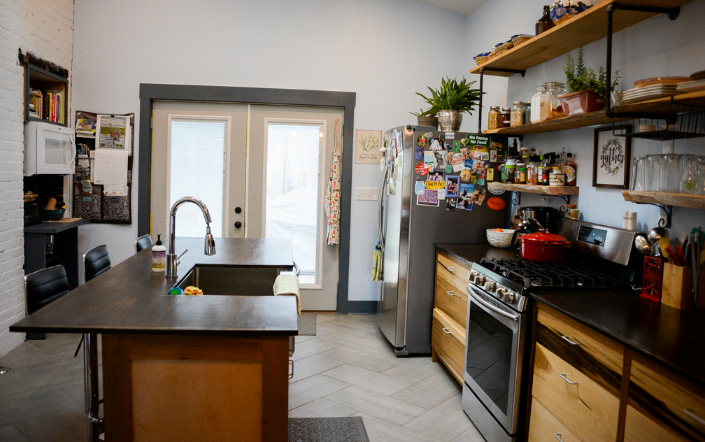 Couple reimagines, rebuilds, restores 100 year old home in downtown Frankfort