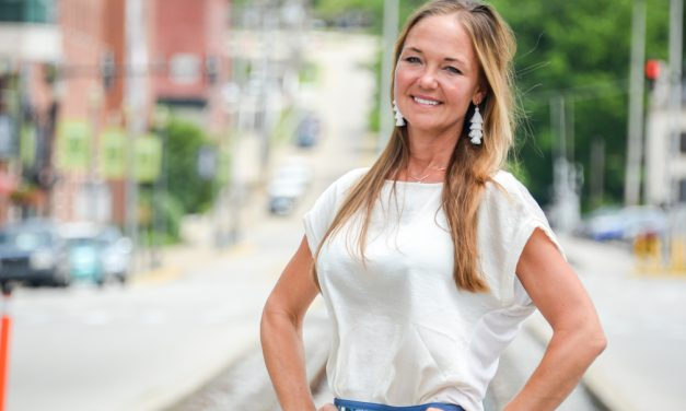 Fitting right in to Frankfort: Diane Strong immerses herself, family into community