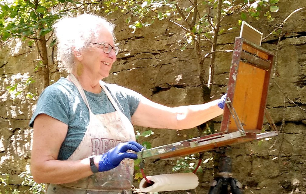 Drawn to water: Beshoar painting Frankfort's pristine waterways