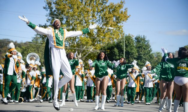 The Mighty Marching Thorobreds brings energy and excitement to its audiences