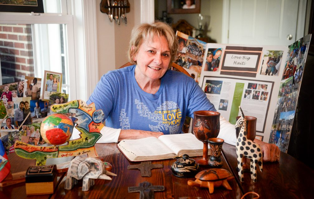 Mission accomplished: Cathie Hoehner growing faith through trips abroad