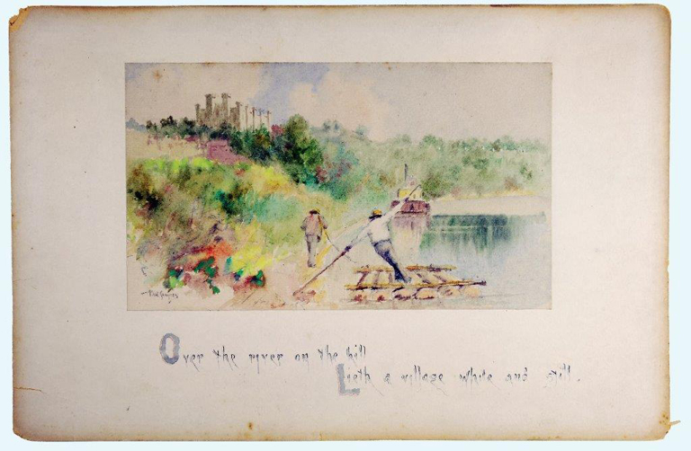 'Poetry in Color': Kentucky Historical Society features Paul Sawyier watercolors