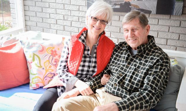 Couple lovingly renovate Stoneleigh Lane home