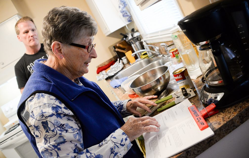 Mother's cookbook helps family stay connected