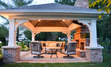 Seeking out shade: Pergola or pavilion might help provide a cool spot this summer