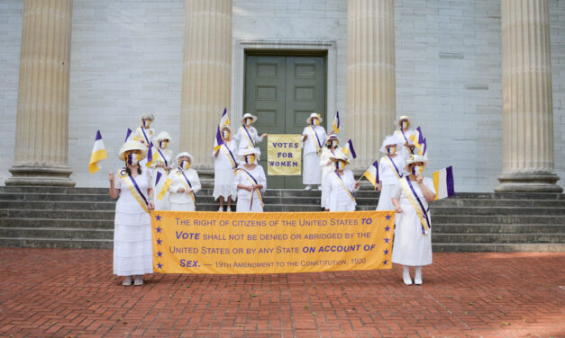 Singing proud: Women's Suffragist Centennial Chorus celebrating 100 years of the right to vote