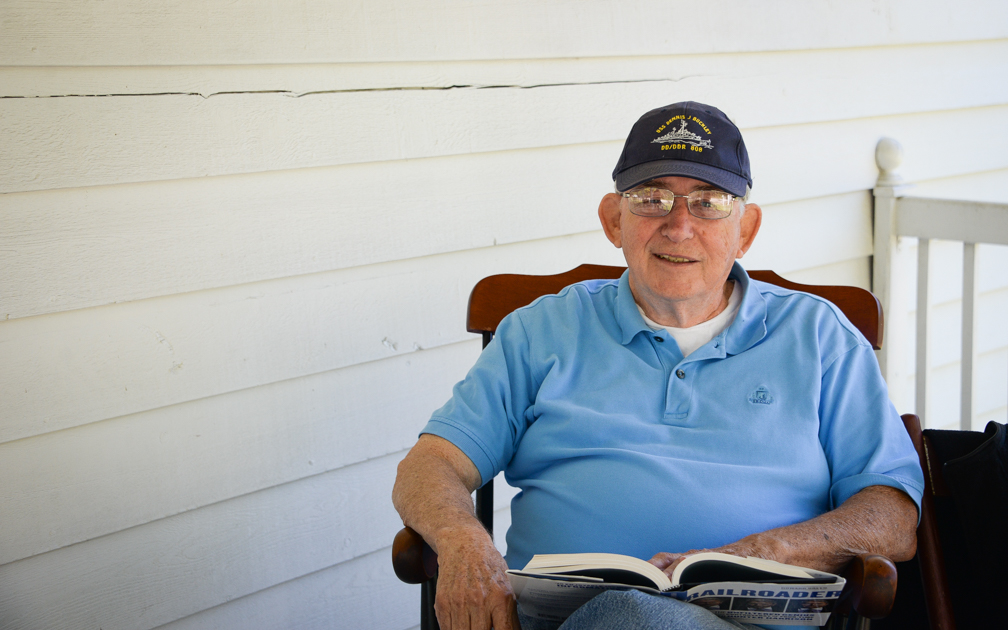 Chasing horizons: Charles Bogart joins the Navy, sees the world