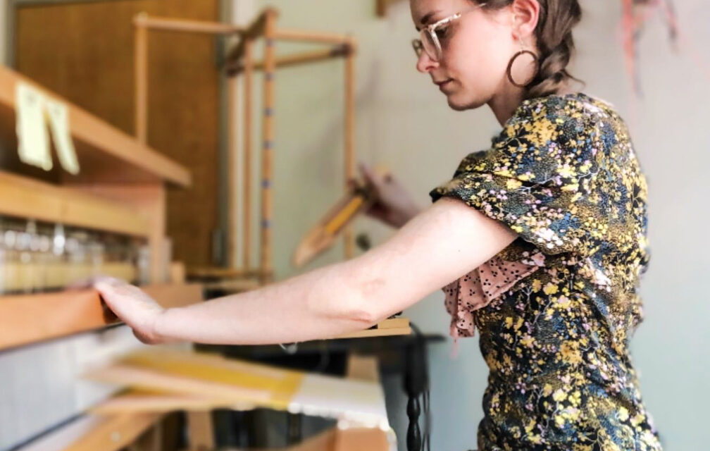 Fabric artist readies crafters marketplace for holiday shopping season