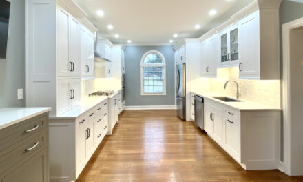 Perfectly bright white: A classic white kitchen with layered style