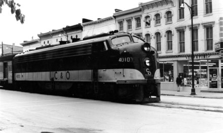 The end of Frankfort's passenger train service