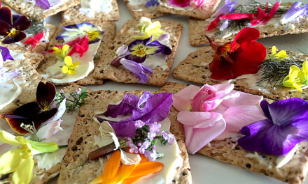 Flowers add color, taste to cooking