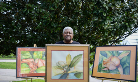 Lifelong passion: Charles H. Robinson fascinated with art