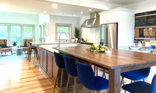 Youthful spirit: A kitchen transformation designed for a youthful family