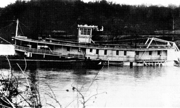 The loss of the packet boat Sonoma