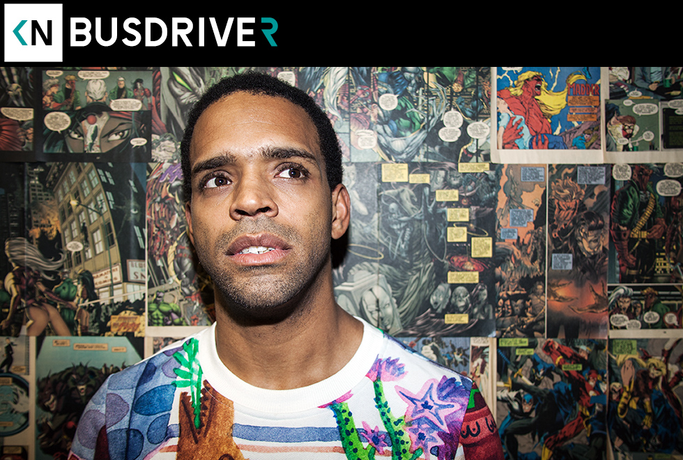 Busdriver on Kinda Neat again.
