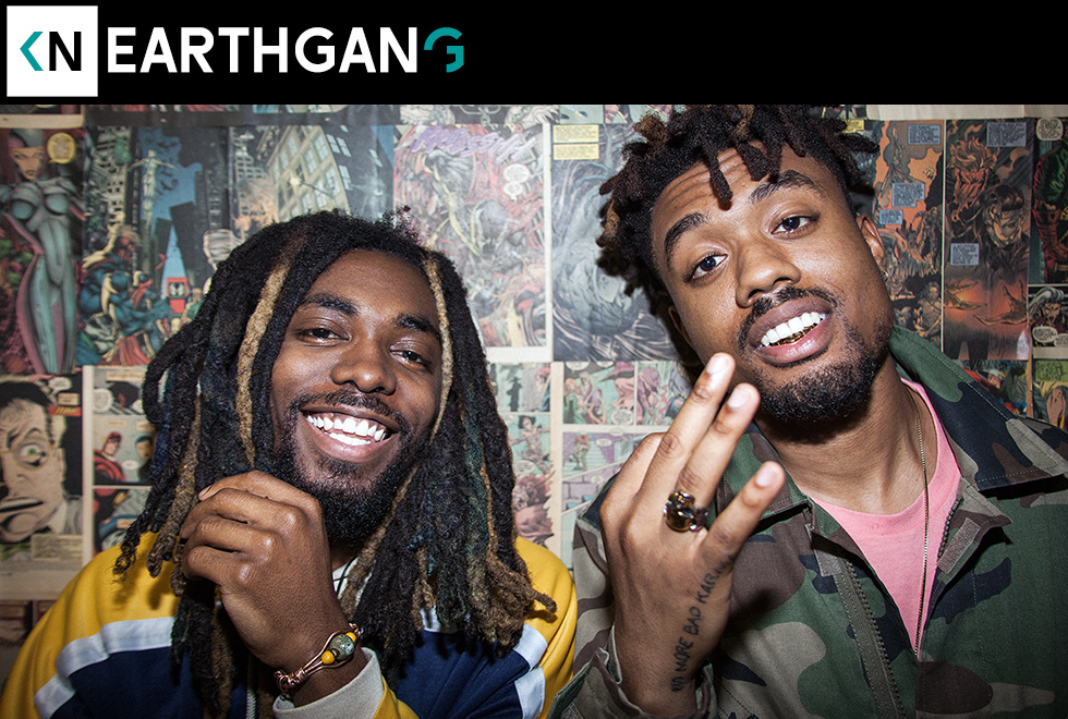 EarthGang on Kinda Neat