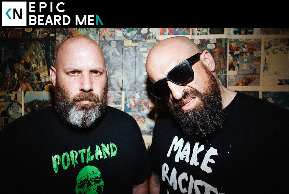 Epic Beard Men on Kinda Neat