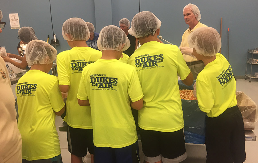 Arizona's Dukes of Air AC-Heating Repair Charity Event