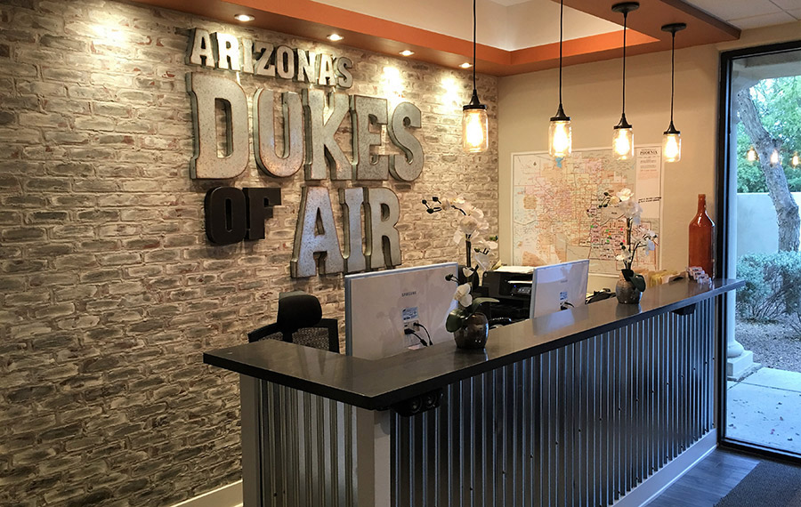Arizona's Dukes of Air AC-Heating Repair Office in Mesa AZ