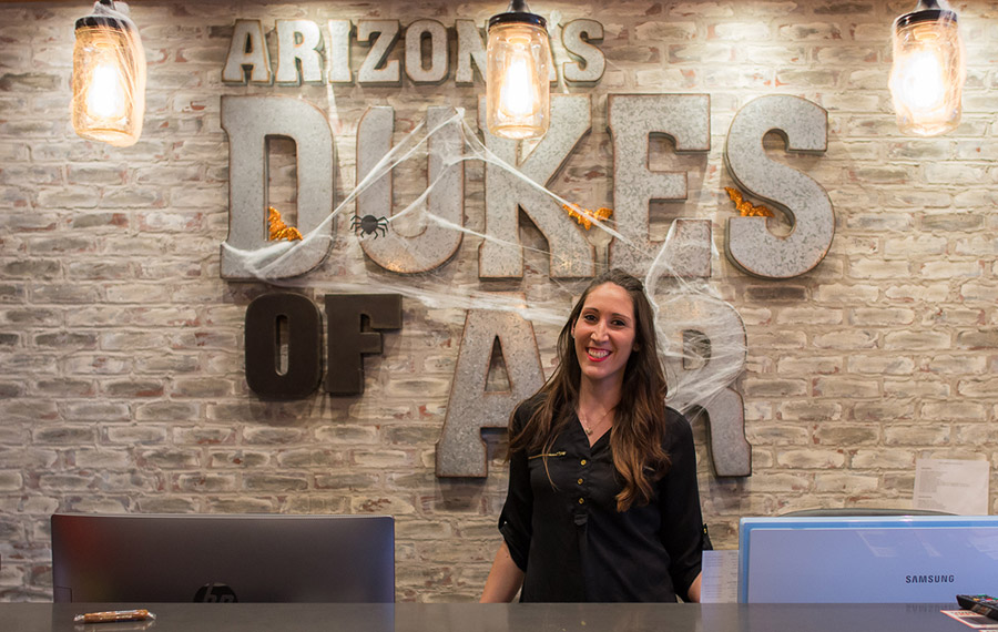 Employment at Arizonas Dukes of Air