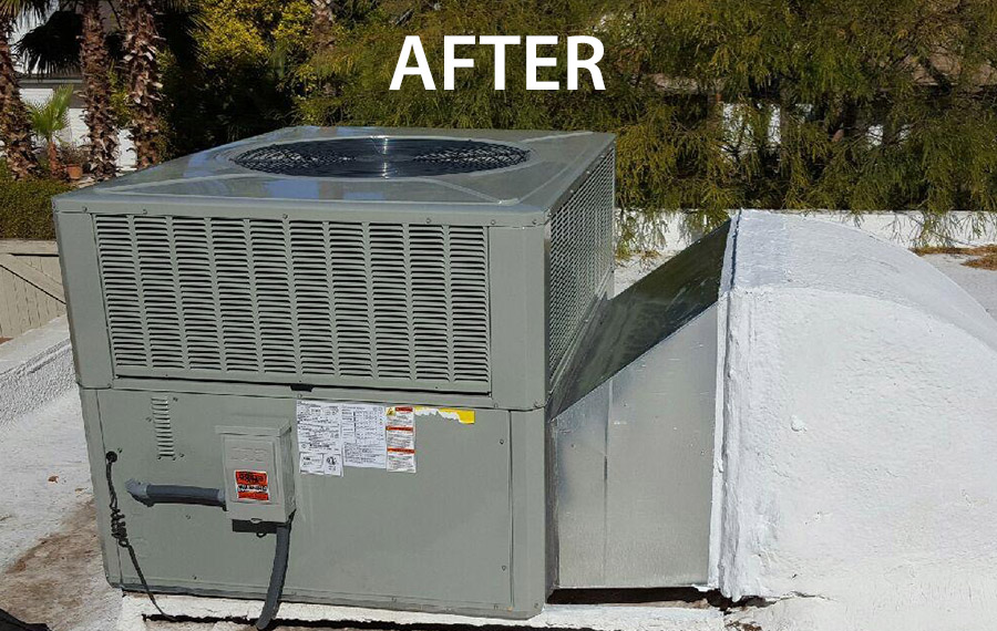 AC Replacement After Photo