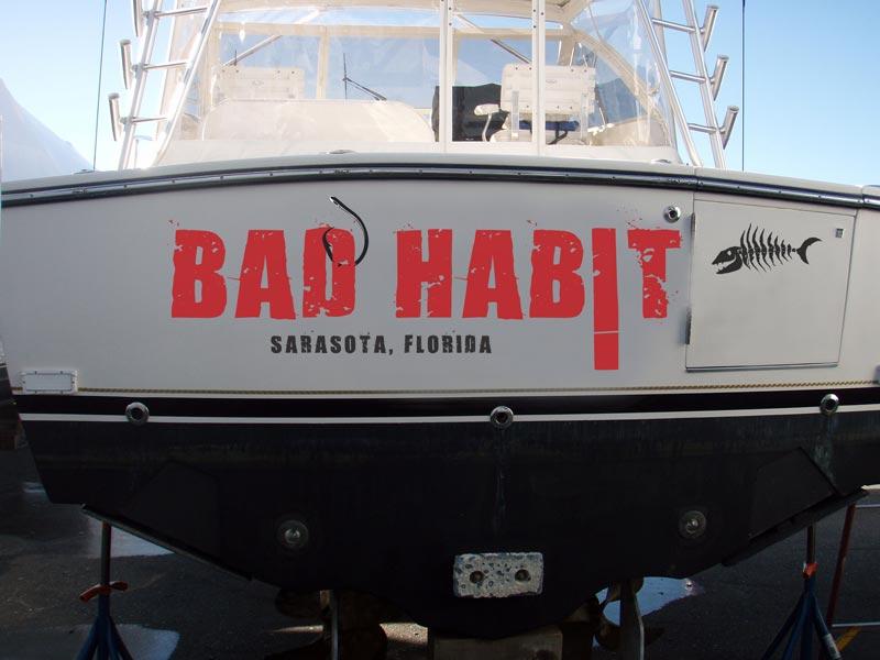 Bad Habit Logo Design