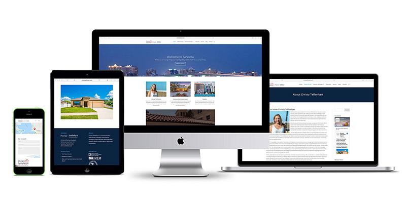 realtor website design sarasota florida